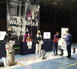 Poznaj zwycięzców turnieju szermierczego Warszawska Syrenka 2020